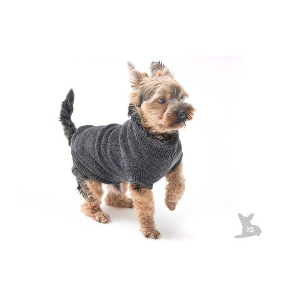 Sivý svetrík pre psov Marendog Trip, veľ. XS
