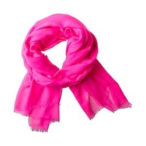Šátek Poetry Grunge Neon Pink