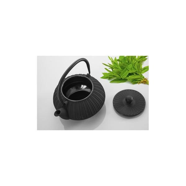 Litinová konvice Bona Black, 1500 ml