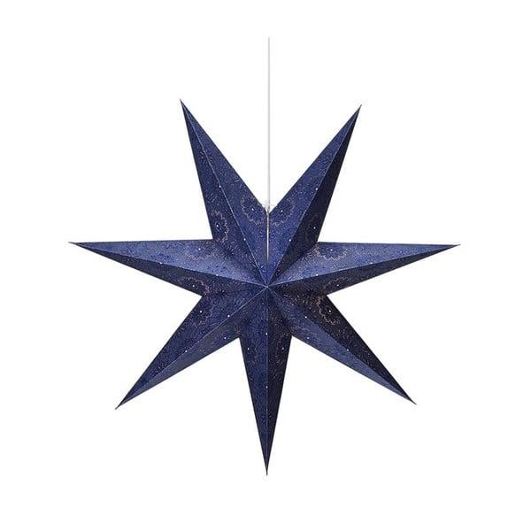 Isadora kék függő fénydekoráció, magasság 45 cm - Markslöjd