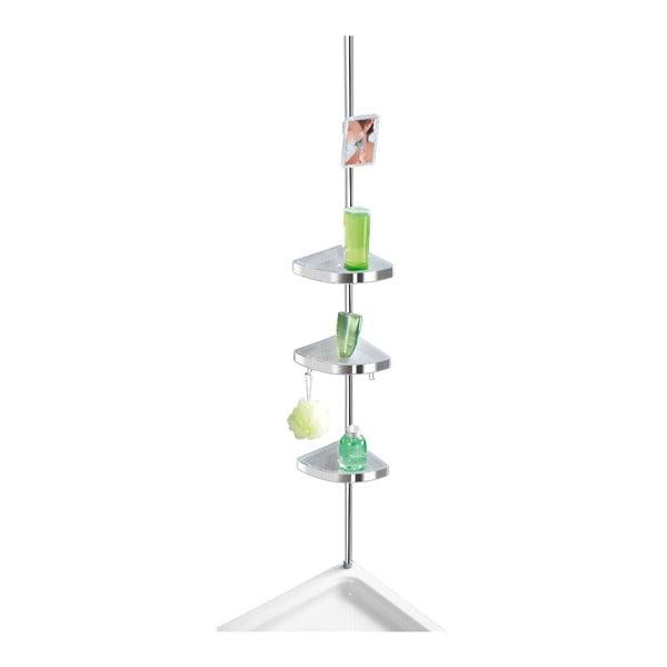 Jasna teleskopowa półka pod prysznic Wenko Premium