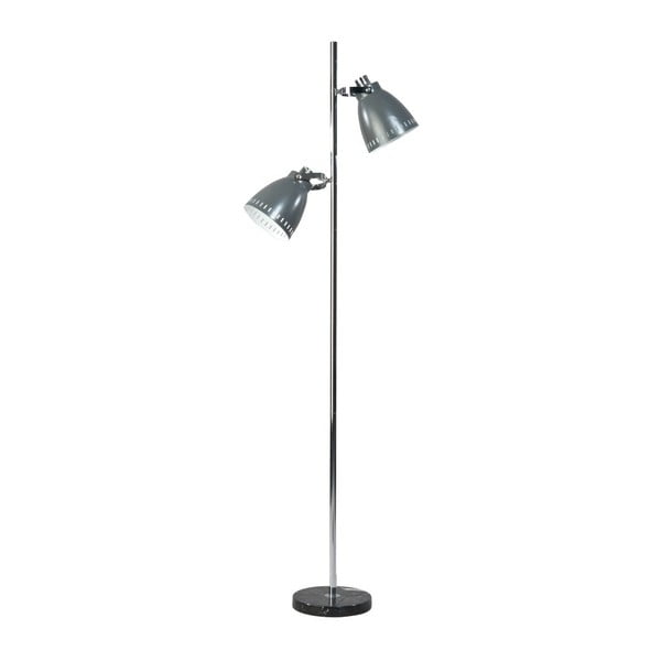 Šedá stojací lampa ETH Acate Jay