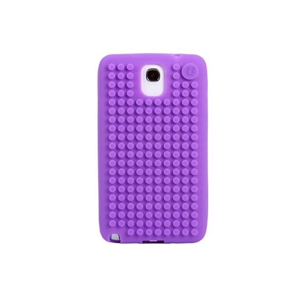 Pixelový obal na Samsung Note 3, fialová