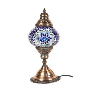 Veioză din sticlă Homemania Mosaic, ⌀ 13 cm