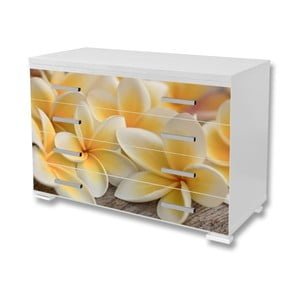 Nalepovací tapeta na nábytek Dimex Květy, 125x85cm