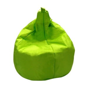 Zelený sedací vak Evergreen House Droplet