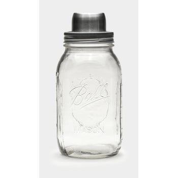 Shaker sticlă Men's Society Mason, 950 ml imagine
