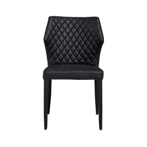 Černá jídelní židle Fiona