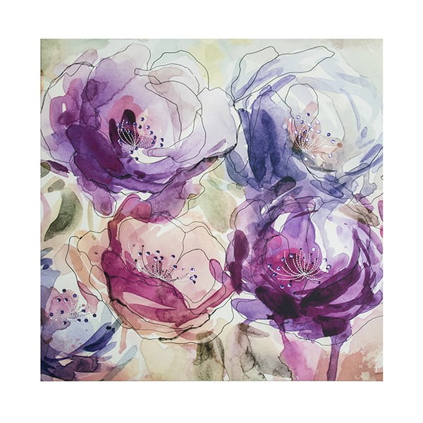 Obraz Graham & Brown Spring Blooms, 60x60 cm