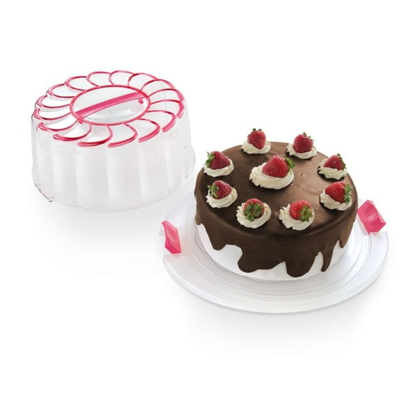 Box na dort Snips Cake Pink, 28 cm