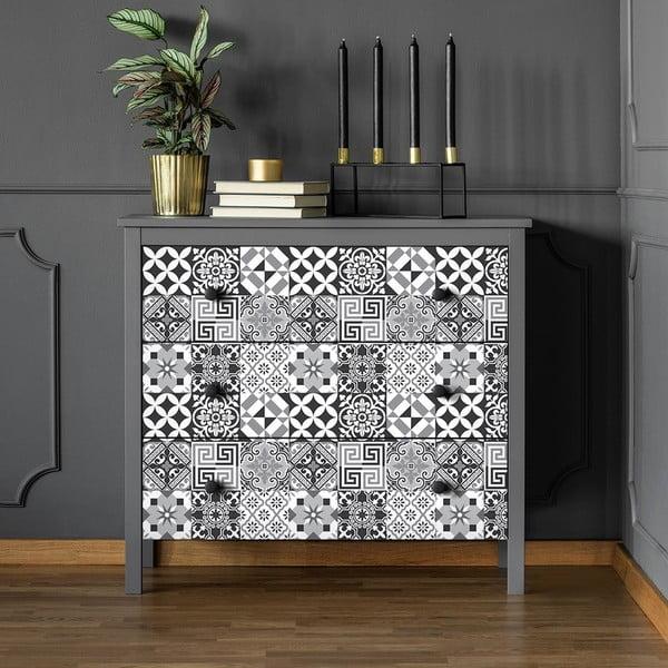 Alonzo 60 db-os bútormatrica szett, 10 x 10 cm - Ambiance