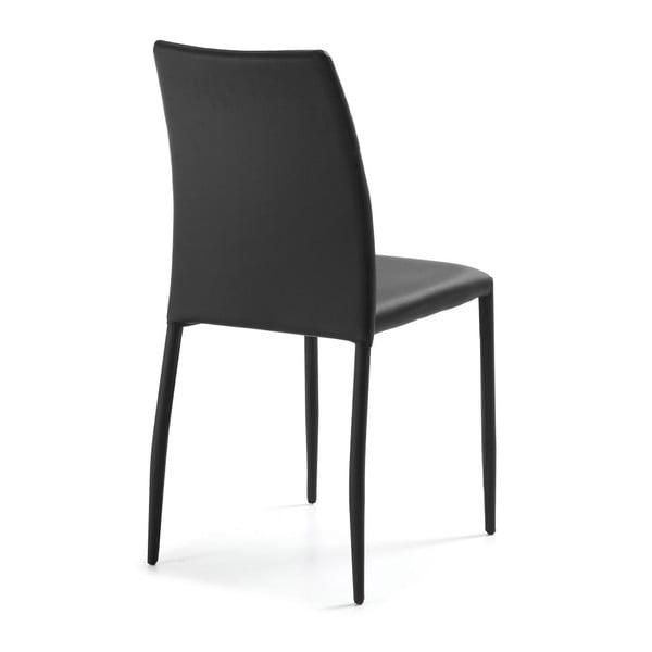 Sada 4 černých židlí La Forma Fresh