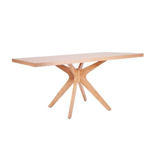 Shela világos barna étkezőasztal, hosszúság 180 cm - sømcasa