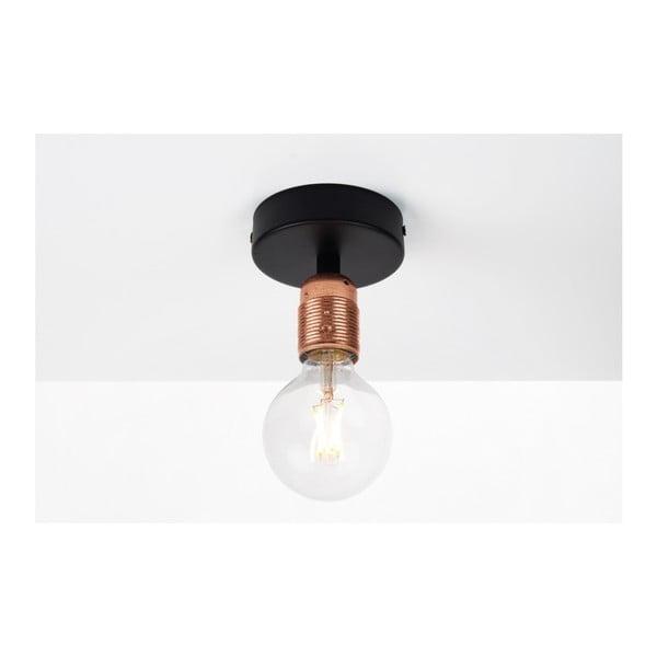 Černo-měděné stropní světlo Sotto Luce BI Elementary 1C