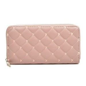 Pudrově růžová peněženka RobertaM Silvia