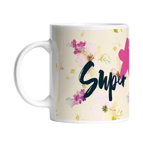 Keramický hrnek Super Girl, 330 ml