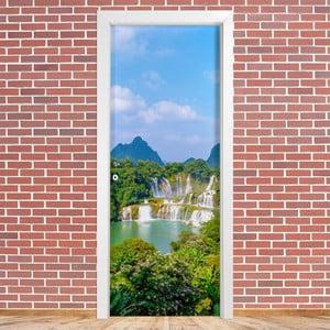 Samolepka na dveře LineArtistica Cascata, 80 x 215 cm