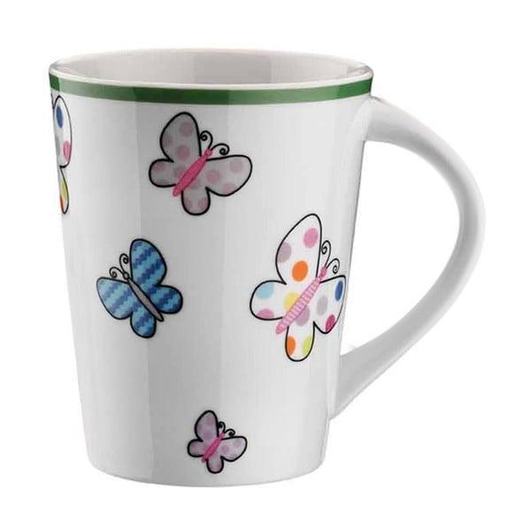 Kubek porcelanowy Butterflies, 275 ml