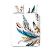Bavlněné povlečení Müller Textiels Color Feather,200x200cm