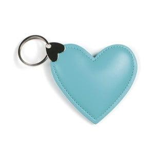 Modrý přívěšek na klíče GO Stationery Hearts Key