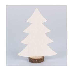 Bílý dřevěný dekorativní stromeček Dakls