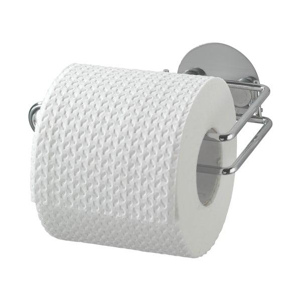 Suport autoadeziv pentru hârtie igienică Wenko Turbo-Loc, 14 x 9 cm