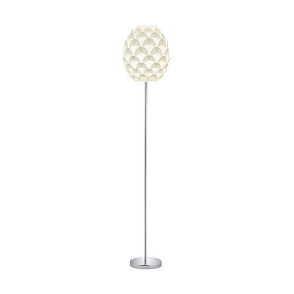 Choke fehér fém állólámpa, magasság 150 cm - Trio