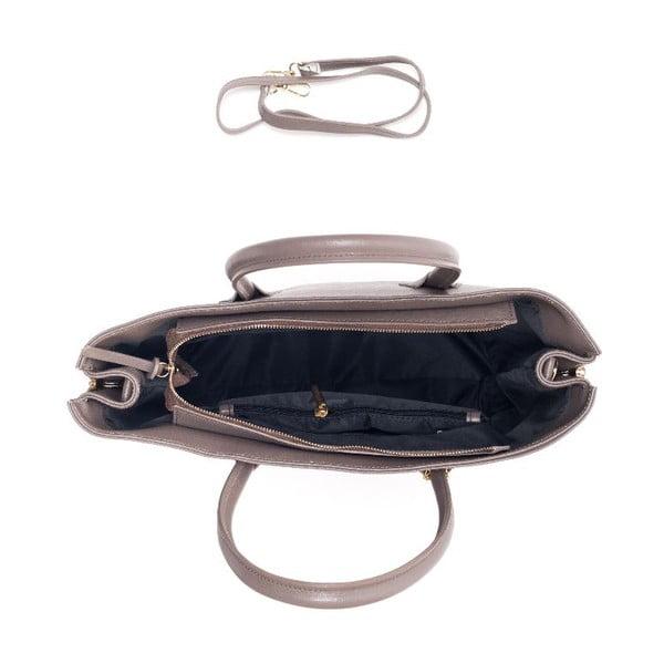 Kožená kabelka Renata Corsi 429 Fango
