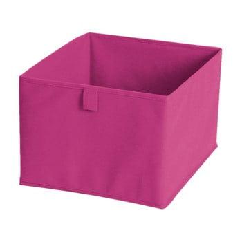 Cutie pentru depozitare din material textil JOCCA, 28x28cm, roz