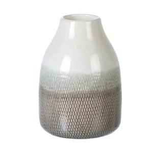 Váza Parlane Santorini, hnědá