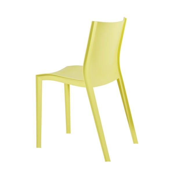 Sada 2 židlí Slick Slick, žlutá
