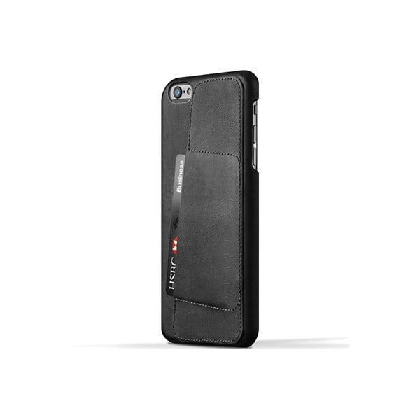 Peněženkový obal Mujjo na telefon iPhone 6 Plus Black