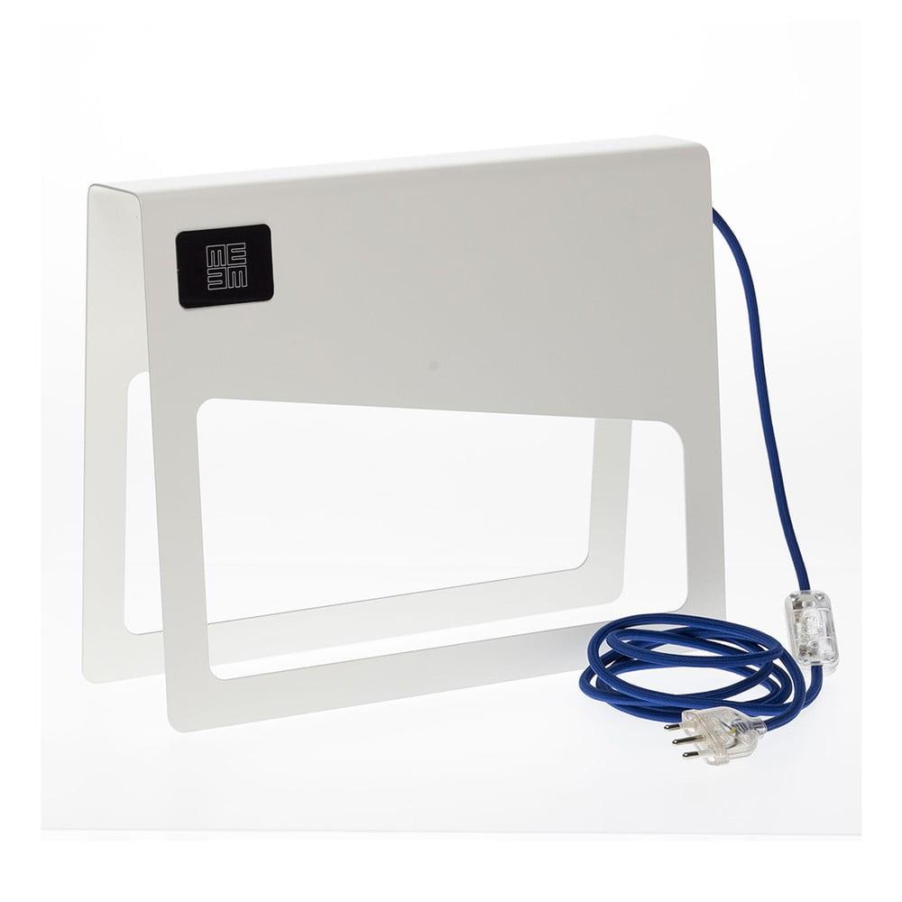 Bílá stojací lampa MEME Design Piega