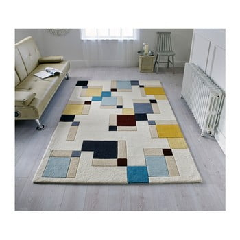 Covor Din Lana Flair Rugs Illusion Abstract, 160 X 220 Cm