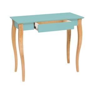 Světle tyrkysový psací stůl Ragaba Lillo, šířka65cm