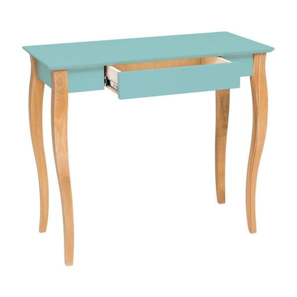 Lillo világos türkizkék íróasztal, szélessége 65 cm - Ragaba