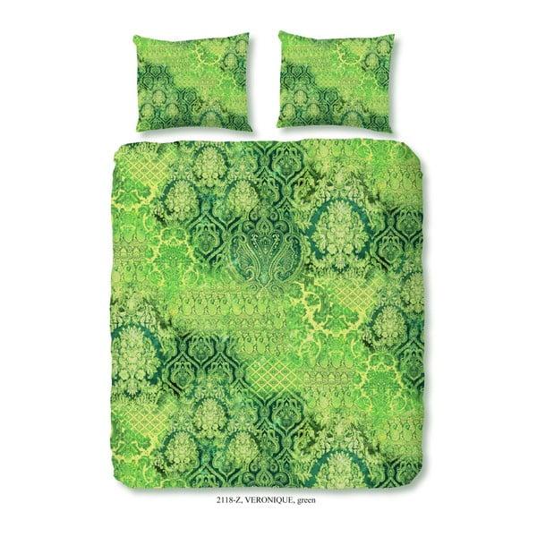 Povlečení na dvoulůžko z bavlněného saténu Muller Textiels Tentoma, 200 x 240 cm