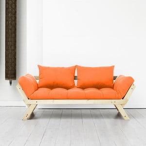 Canapea Karup Bebop Natural/Orange