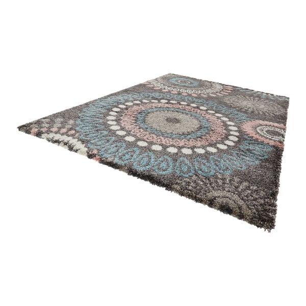 Šedý koberec Mint Rugs Allure Gallero, 200x290cm