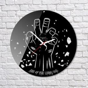 Nástěnné hodiny Zombie