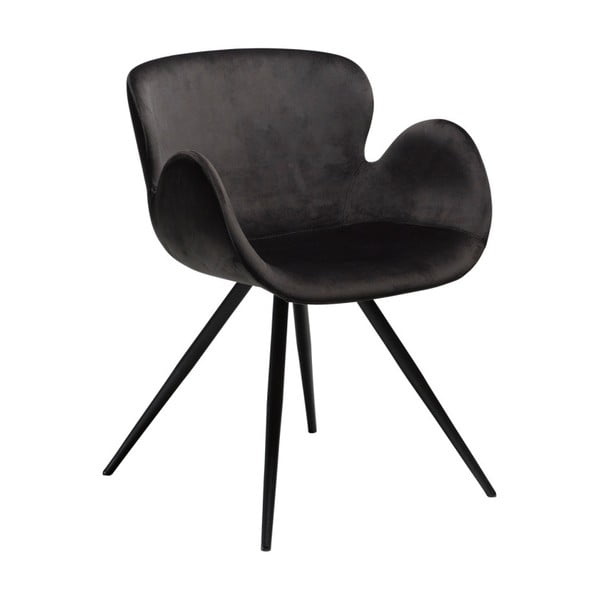 Čierna stolička DAN-FORM Denmark Gaia