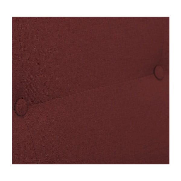 Terakotově červená rozkládací pohovka HARPER MAISON Laila