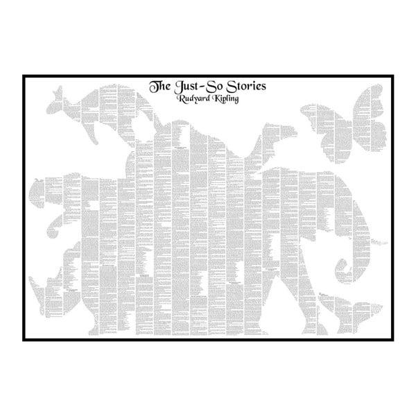 Knižní plakát Bajky i nebajky, 70x50 cm