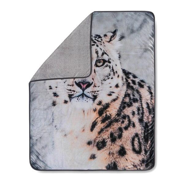 Pléd Muller Textiels Snow Leopard Grey, 130 x 160 cm