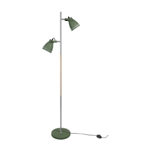 Zelená volně stojící lampa Leitmotiv Mingle