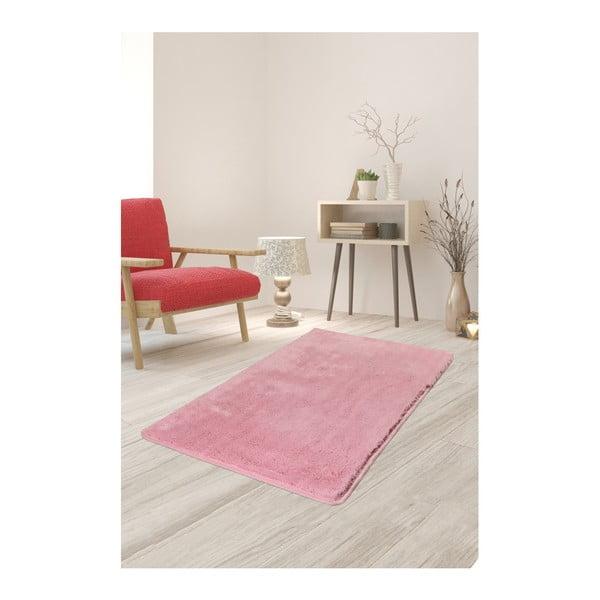 Jasnoróżowy dywan Milano, 120x70 cm