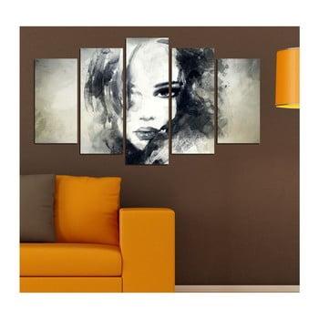 Tablou din mai multe piese Insigne Davina, 102 x 60 cm imagine