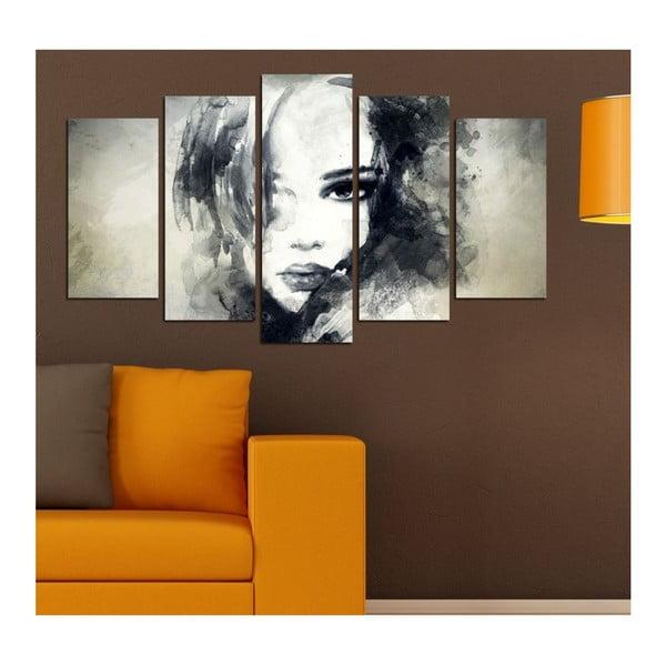 Tablou din mai multe piese Insigne Davina, 102 x 60 cm