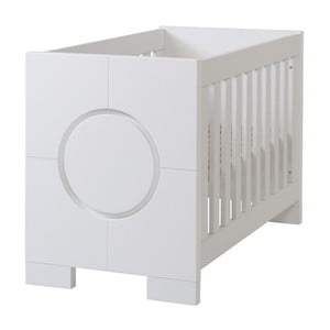Pătuț pentru bebeluși Núvol Olivia, 60 x 120 cm, alb