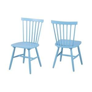 Modrá jídelní židle Actona Riano